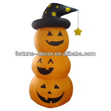 180cm Halloween inflatable pumpkins with hat