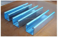 gi c purlin steel stud for sale