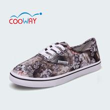 bulk wholesale women print small size canvas shoes