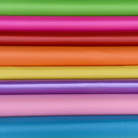 Solid colorful PVC synthetic leather for luggage/ for bag