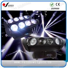 Guangzhou New DMX Light 8Eyes Spider Beam Moving Head 10w LED
