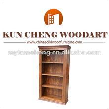 Accesorio de la biblioteca/estantería de madera maciza/estante de libro