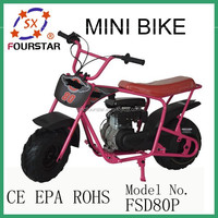 Hot sale Super Pocket Mini Motorcycle FSD80P Cheap Pocket Bike for Whole Sale