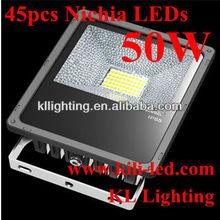 newest IP65 45pcs Nichia LEDs 50w led flood