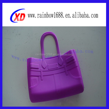 Guangdong factory oem design bag rubber bag silicone tote bag