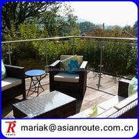 glass banister,outdoor banister,modern banister