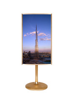 New fashionable flat screen tv wholesale, wifi smart lcd tv screen easy to move for indoor advertising