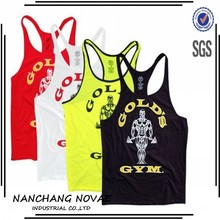 Gym stringer vest custom gym stringer vest for men