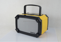 2015 Portable FM Radio Bluetooth Speaker Stereo with usb/sd for indoor or Outdoor