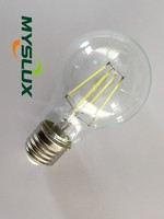 Factory sale 110v/220v constant current driver CE ROHS dimmable LED filament bulb candle 4W 5W 6W 7W 8W