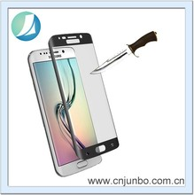 Promotion Complete Covering Corning Tempered glass for Samsung Galaxy S6 edge