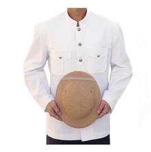 Men's Long Sleeve Jacket Bellboy Front Office Uniforms for Hotel Doorman Uniform Hotel Staff Valet Jacket WS632