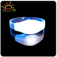 Promotional Gifts Giveaways Wedding Favor led light up wristbands/High Quality Led Light Up Wristband Bracelets