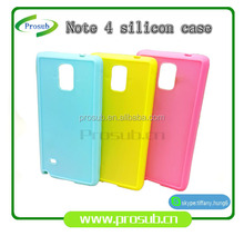 sublimation heat transfer silicon blank diy cell phone case cover skin