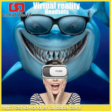 Professionals Headset VR 3D glasses Google cardboard VR BOX 3D Glasses with Patent