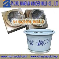 Customized new coming oem plastic parts flower pot mould