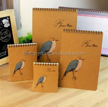 OEM customized colours and Pattern notebook