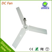 12v dc brushless motor 5 speed controls 56inch solar dc ceiling fan