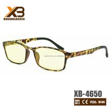 Latest fashion flexible frame reading eyeglasses 2016