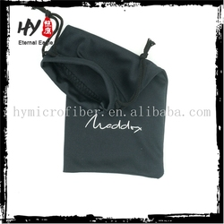 Hot selling gift pouch with drawstring,microfiber sunglasses pouches,optics lens pouch