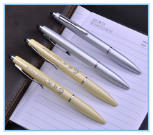Aluminum metal ballpoint tip stylus pen for apple ipad air 2 for phone and samsung tablet pc