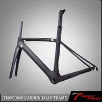 Trident thrust bike seat post and seat post clamp carbon frame