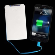 cable built in power bank 8000mAh/USB micro cable built in power bank 2015