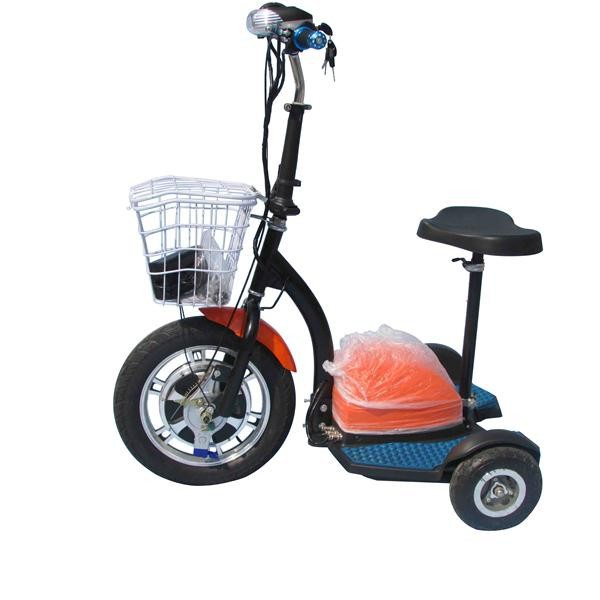2015 Lithium Electric Scooter Three Wheel Electric Mobility Scooter Electric Moped Scooter Price