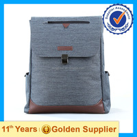 2015 High quality trendy backpack manufacturing backpack leather