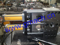 PP PET Monofilament Yarn extrusion line with Double plate type continuous screen changer
