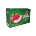 verde caixa de embalagem de suco de frutas