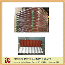 Natural Stone Coated Metal Roofing Tile With High Quality unfading