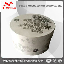 Best quality printed paper round box printing