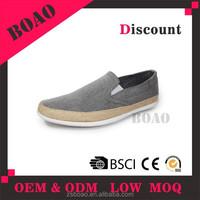 2015 Oxford fabric men casual shoe