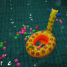 The new 2014 baby swim ring Sika deer pattern by PVC inflatable boat