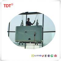 building glass cleaning machine BMU system gondola