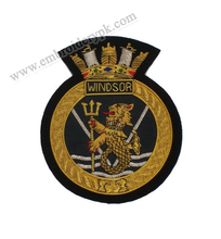 HMCS Windsor Blazer Badge Canadian Navy Ship
