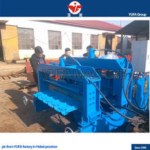 Popular Various customized beauty roofing of arc bias glazed tile roll forming machine