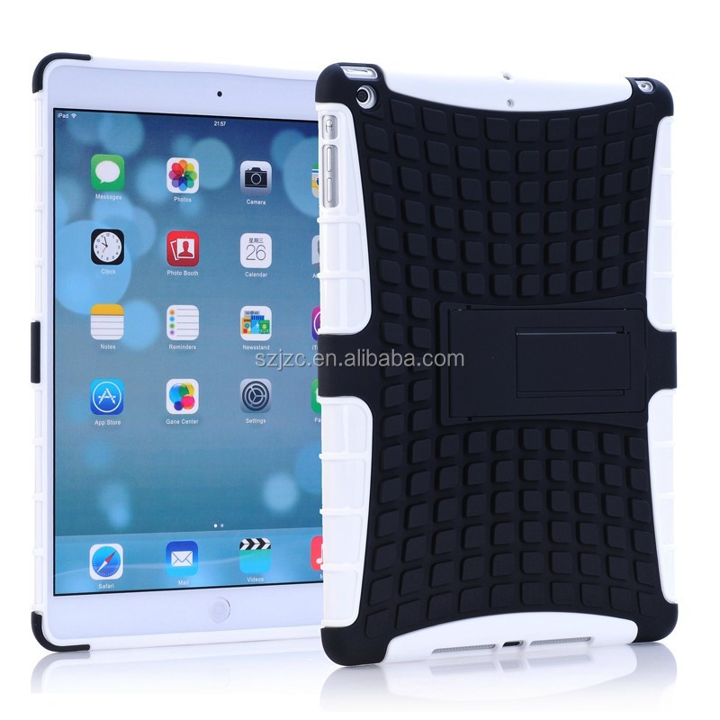 TPU+PC smart cover case for iPad air with stand,for ipad air cover skin in factory price