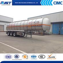 CIMC 42M3 Aluminum Fuel Tank Semi Trailer/Aluminum Semi Trailer/Aluminum Oil tank