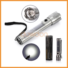 2014 New 20000-30000mcd High Bright USB Charger LED Torch,1W Solar Power LED Flashlight With CE/RoHS Approval