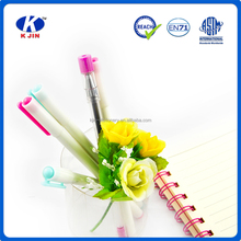 girls favourite transparent plastic normal slim ballpoint pen