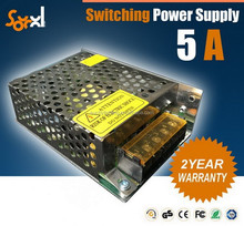 24V 5a AC/DC Switching power supply 60W CE ROHS convert power supply