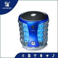 2015 portable bluetooth wireless mini speaker with FM MIC TF Card function