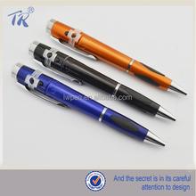 New Design Bottom Price Plastic Led Light Ballpoint Pen
