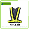 high visibility mesh reflective roadway security vest for children
