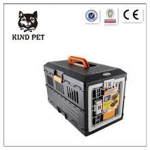 2015 Pet Plastic Foldable Air Transportation pet Carrier