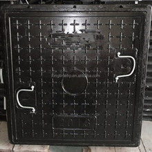 Alibaba china hot sell composite fiberglass frp smc bmc manhole cover with frame
