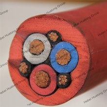 3.6/6kv rubber insulation and sheathed flexible mining cable