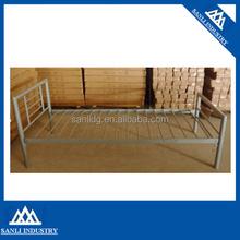 Metal single bed MBD011
